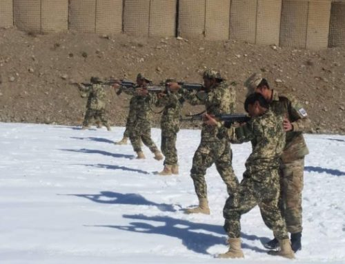 48 guards of NPPF received their graduation certificates after military training in the Paktia zone and deployed to their detachments