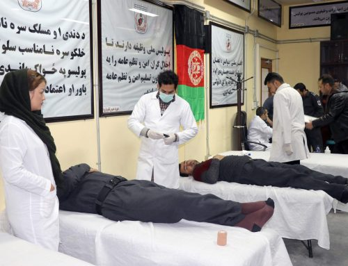 The blood donation campaign was launched at NPPF