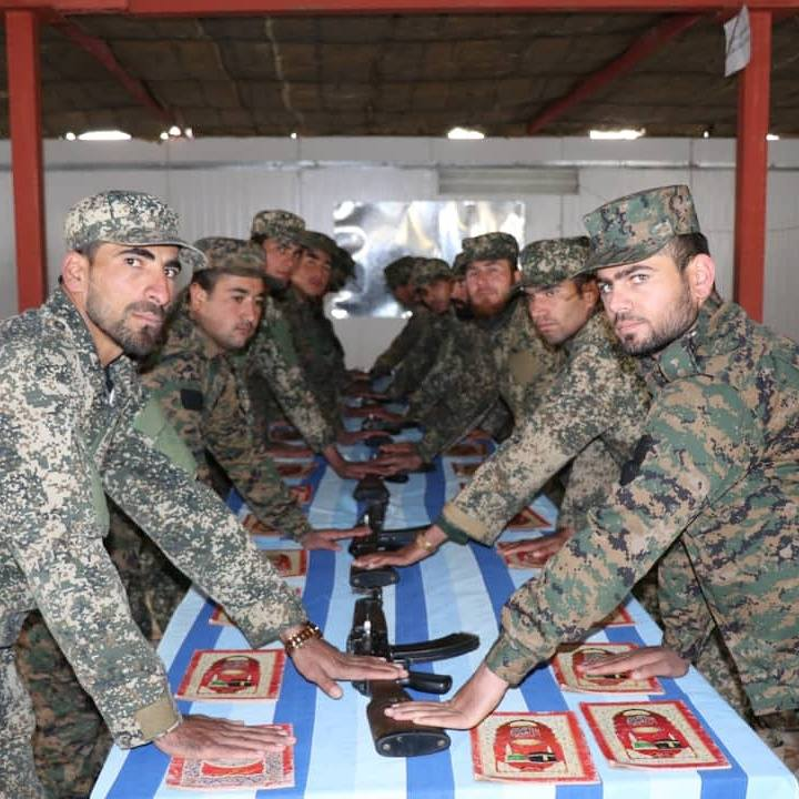 Fifty-five guards of the General Directorate of Afghan Public Protection Force (APPF) and Enterprise Security received their graduation certificates at the sixty-first round training from the training center of this Directorate.