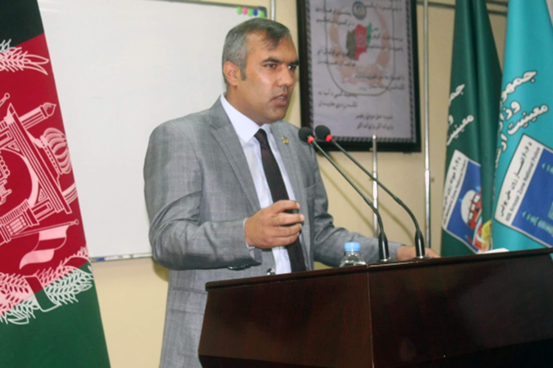 Colonel Mohammad Qais Sargand was introduced as acting chief of staff of the NPPF.